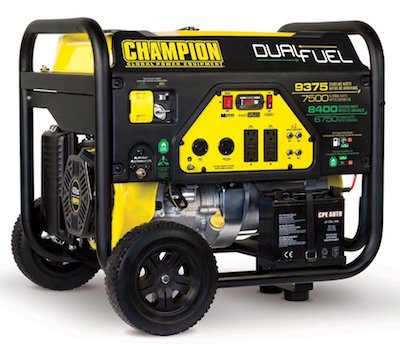 champion portable loud generator