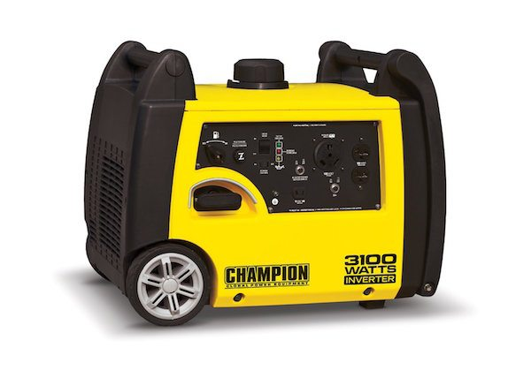 champion portable generator with wheels