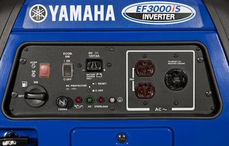 portable inverter generators from yamaha