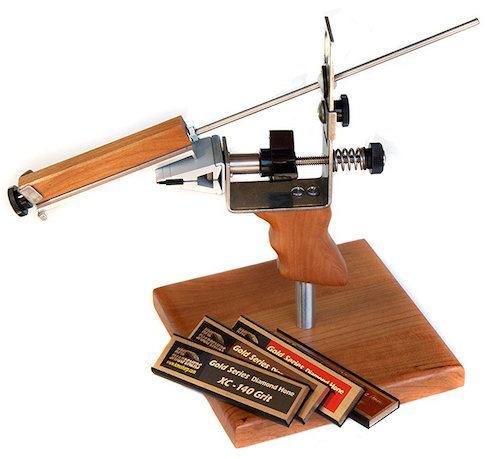 KME sharpener kit with stand
