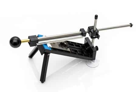 The Apex is a professional knife sharpening system