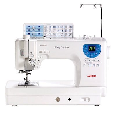janome mc-6300 heavy duty sewing and quilting machine