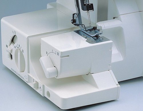 how to use serger thread on sewing machine