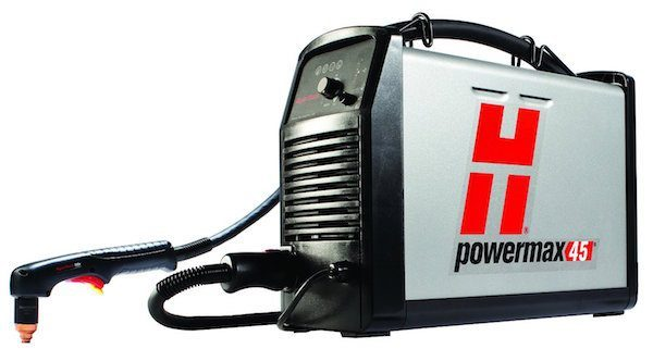 hypertherm plasma cutter review powermax45