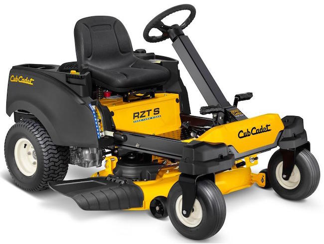 cub cadet RZT S 42 with steering wheel
