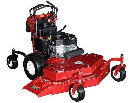 Bradley stand on zero turn mower