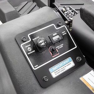 swisher response control panel