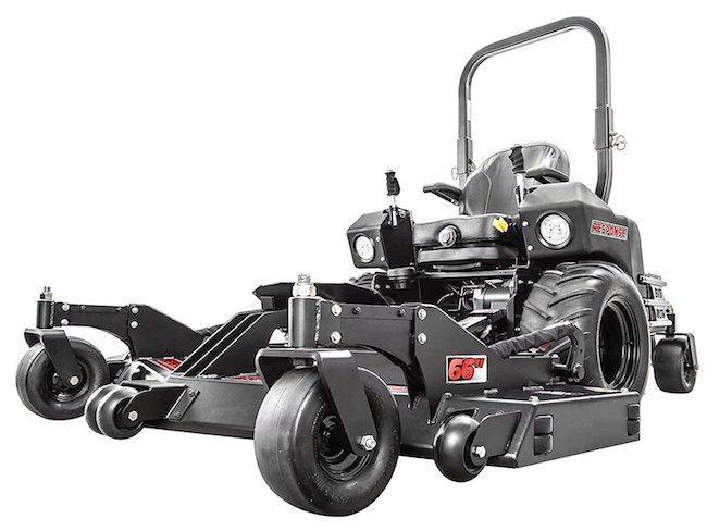swisher front mount zero turn radius mower