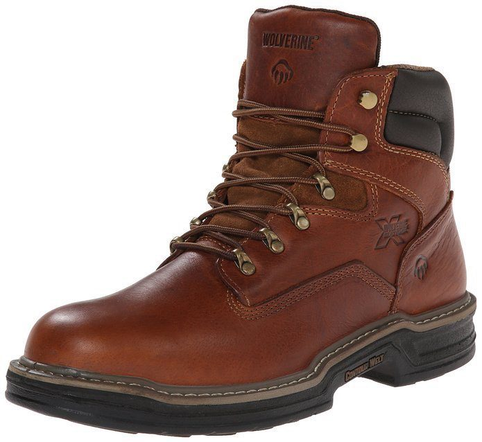 wolverine raider mens work boot