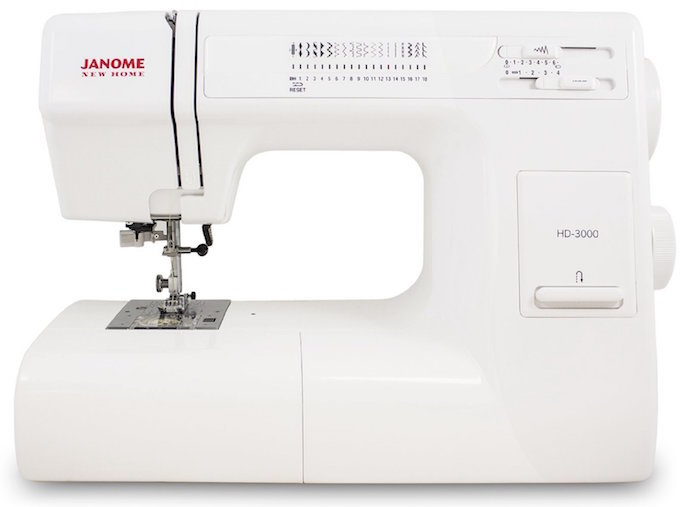 Janome HD3000 heavy duty sewing machine reviewed