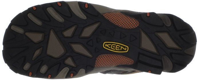 KEEN Utility Men's Flint Low Steel Toe Shoe sole