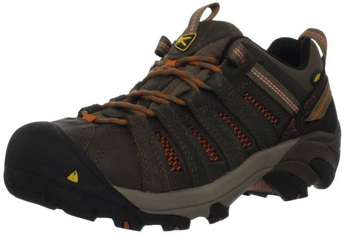 KEEN Utility Menu0027s Flint Low Steel Toe Shoe