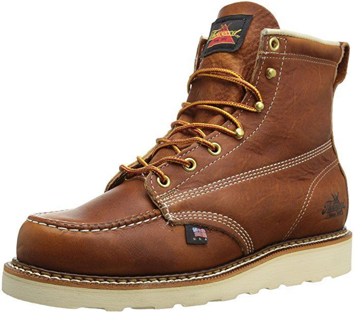 Thorogood Men's soft toe boot