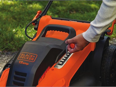 black and decker corded mower review