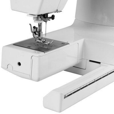 free arm on the Janome hd1000