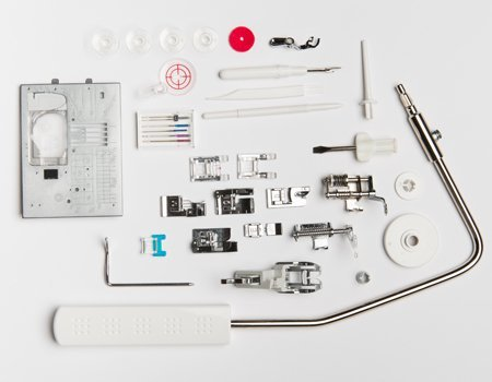 janome 8900 included accessories