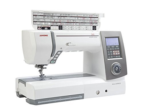 janome memory craft 8900QCP top