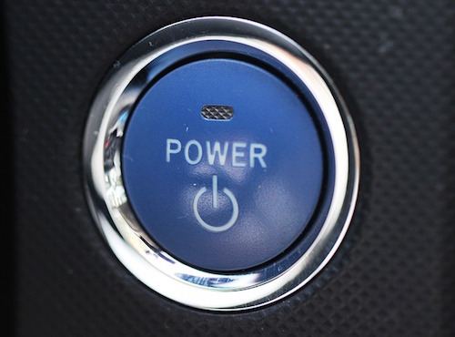 push button power on off