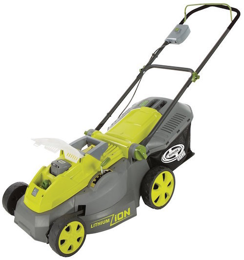 sun joe ion16lm battery powered lawn mower review