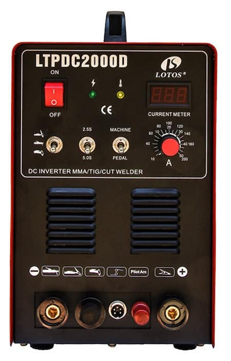 lotos LTPDC2000D plasma cutting system and welder