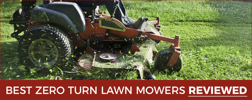 zero turn radius lawn mowers