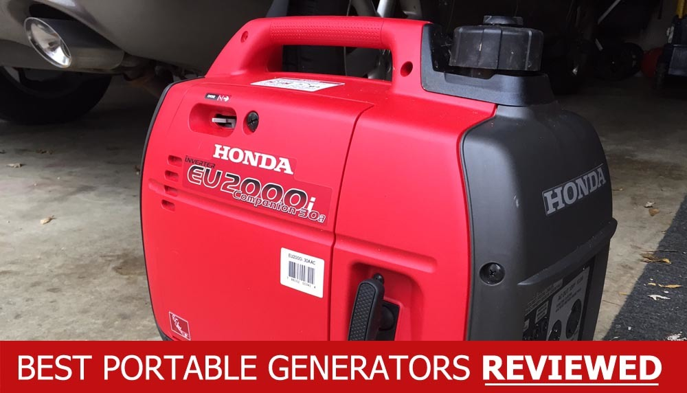 Best portable inverter generator reviews standby camping for Honda vs yamaha generator
