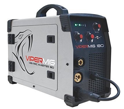 the vipermig 180 from razorweld is a dual voltage unit