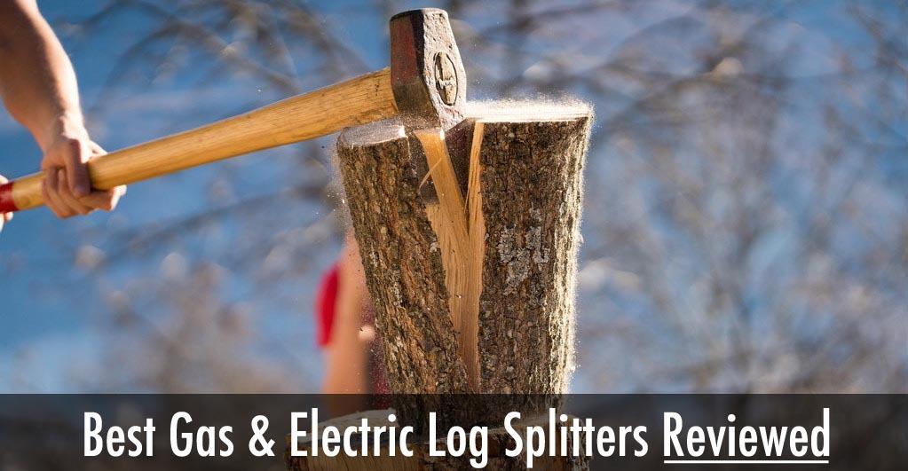 splitting logs with an ax is hard work