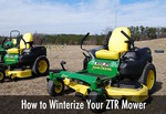 how to winterize your zero turn lawn mower