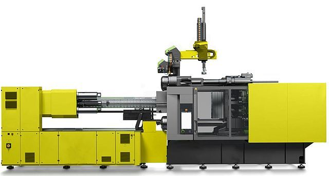 automatic injection molder