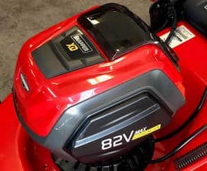 The best electric mower models use lithium ion batteries