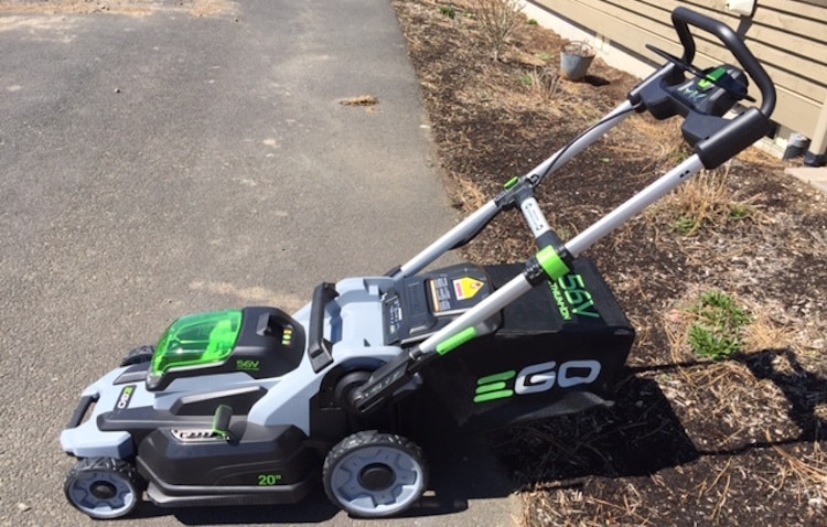 electric mowers are ideal for smaller yards