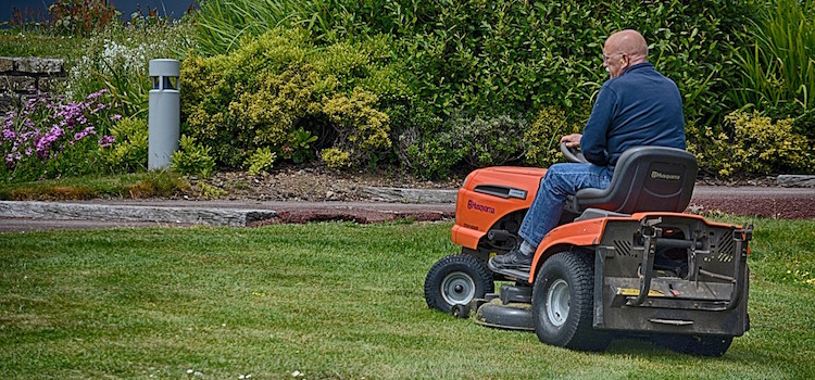 lawn tractors are ideal for larger yards