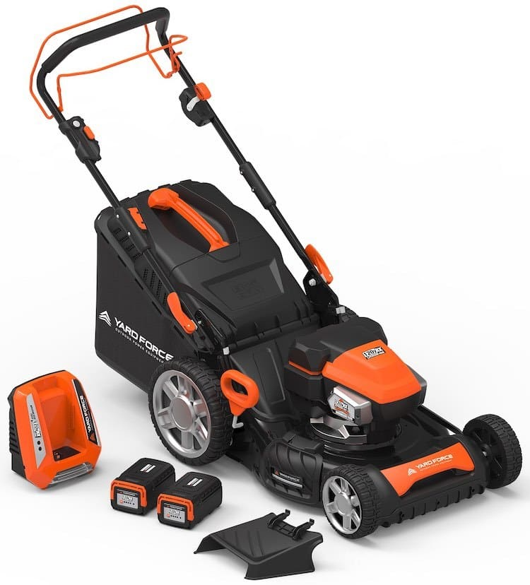 included accessories and mower