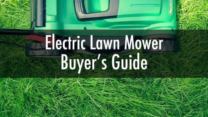 top electric lawn mowers