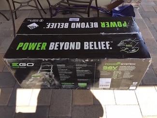 Power+ in shipping box