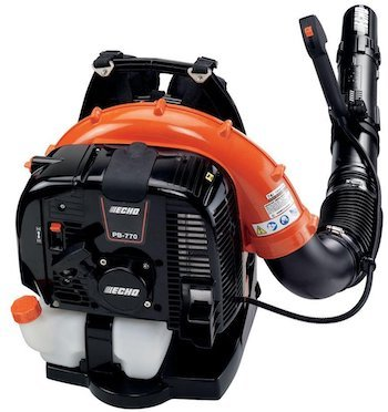 Echo 770bt top performing commercial backpack leaf blower